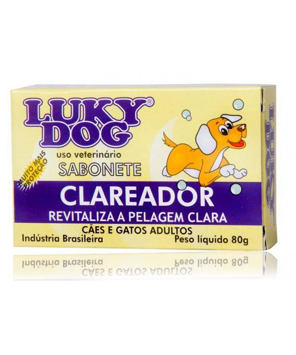 SABONETE LUKI DOG CLAREADOR 80GR