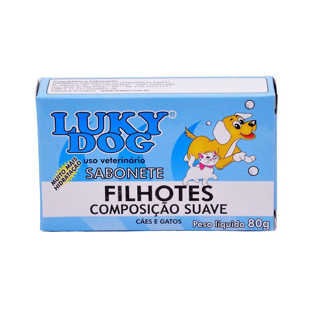 SABONETE LUKI DOG FILHOTES 80GR