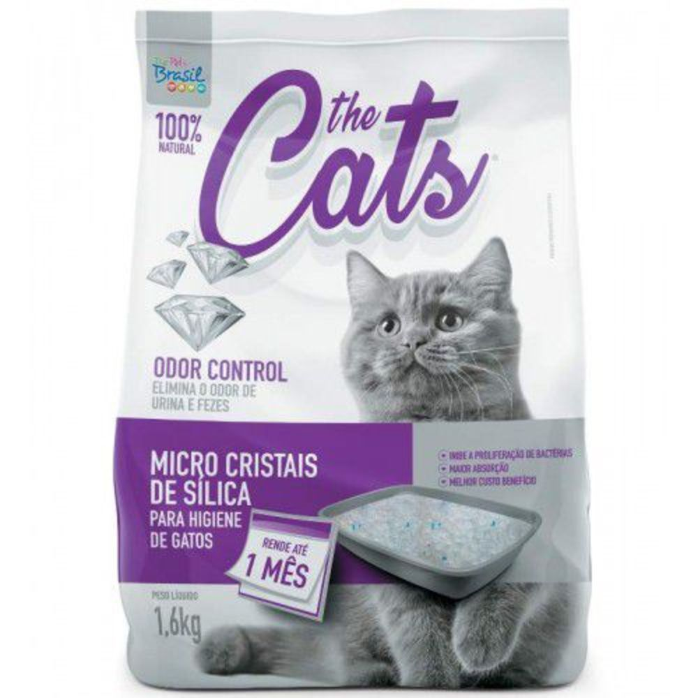 SILICA THE CATS MICRO 1.6KG