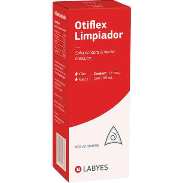 Solução para Limpeza de Ouvido Otiflex Limpiador para Cães e Gatos 100ml Labyes