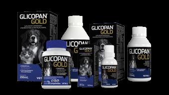 Suplemento Vetnil Glicopan Gold para Cães e Gatos 250ml