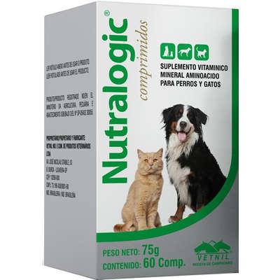 Suplemento Vitamínico Vetnil Nutralogic - 60 Comprimidos