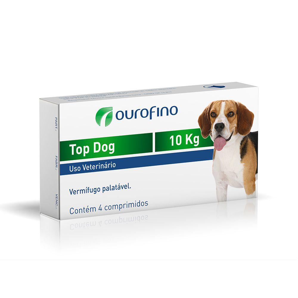 TOP DOG 10KG 4 COMPRIMIDOS