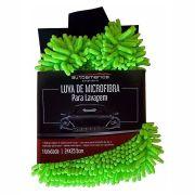 Luva de Microfibra Verde Autoamerica  24x25,5 cm