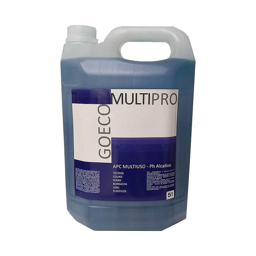 Apc Multipro Blue Limpador Multiuso 5 lt Go Eco Wash
