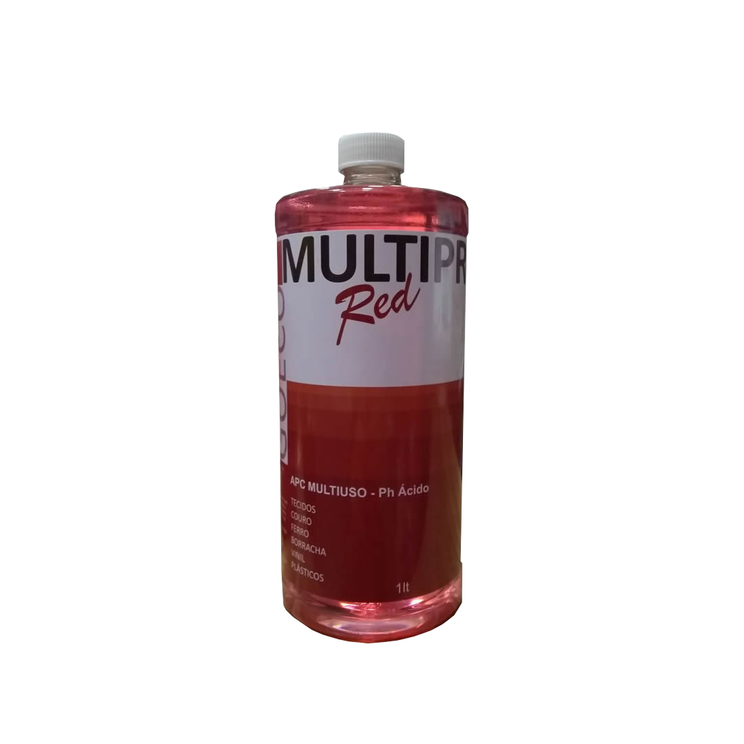 Apc Multipro Red Limpador Multiuso Ácido 1LT GO ECO WASH