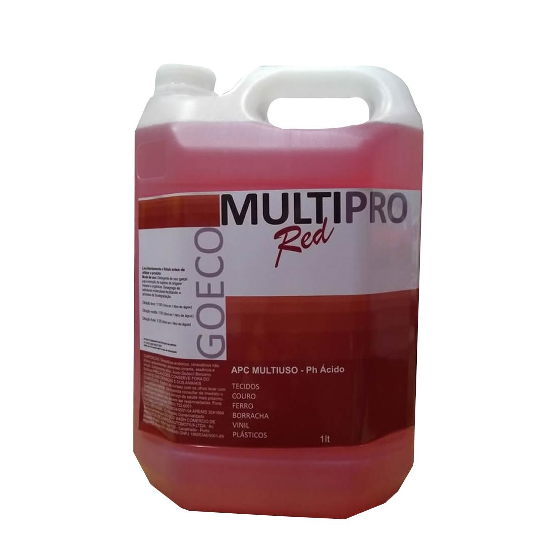 Apc Multipro Red Limpador Multiuso Ácido 5LT GO ECO WASH