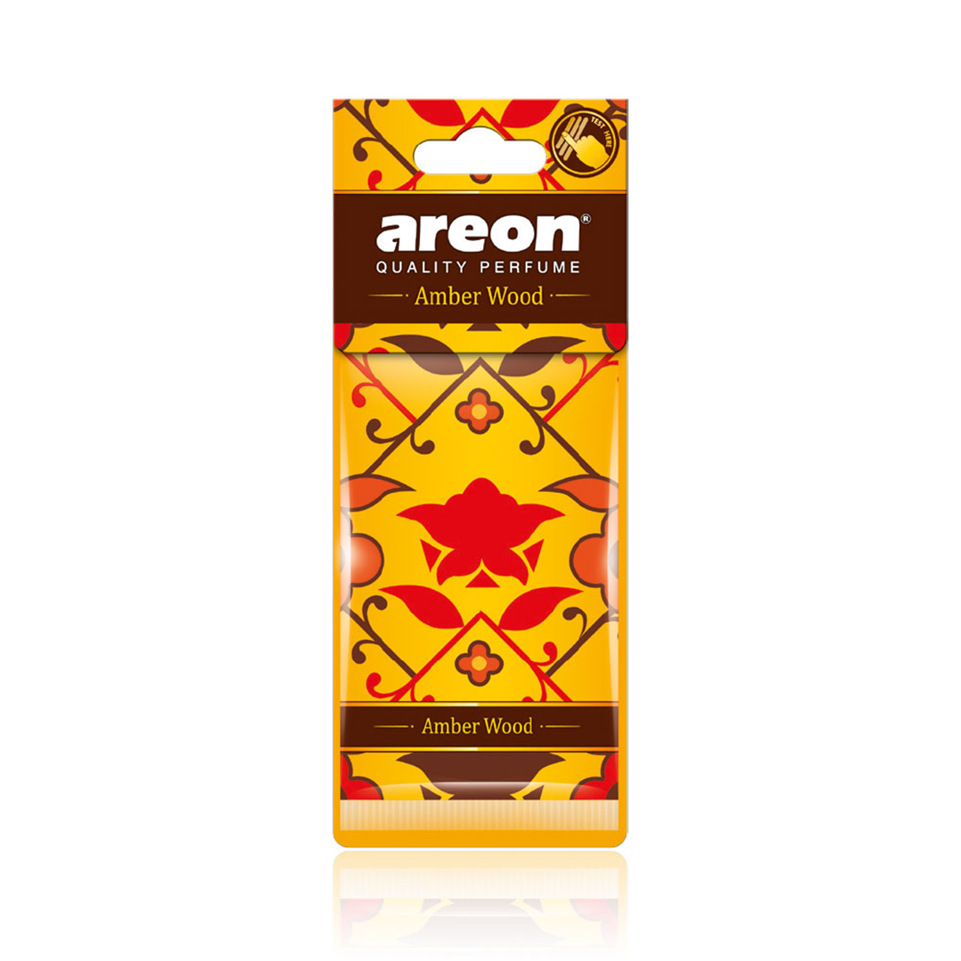 Areon Aromatizante Folha Amber Wood