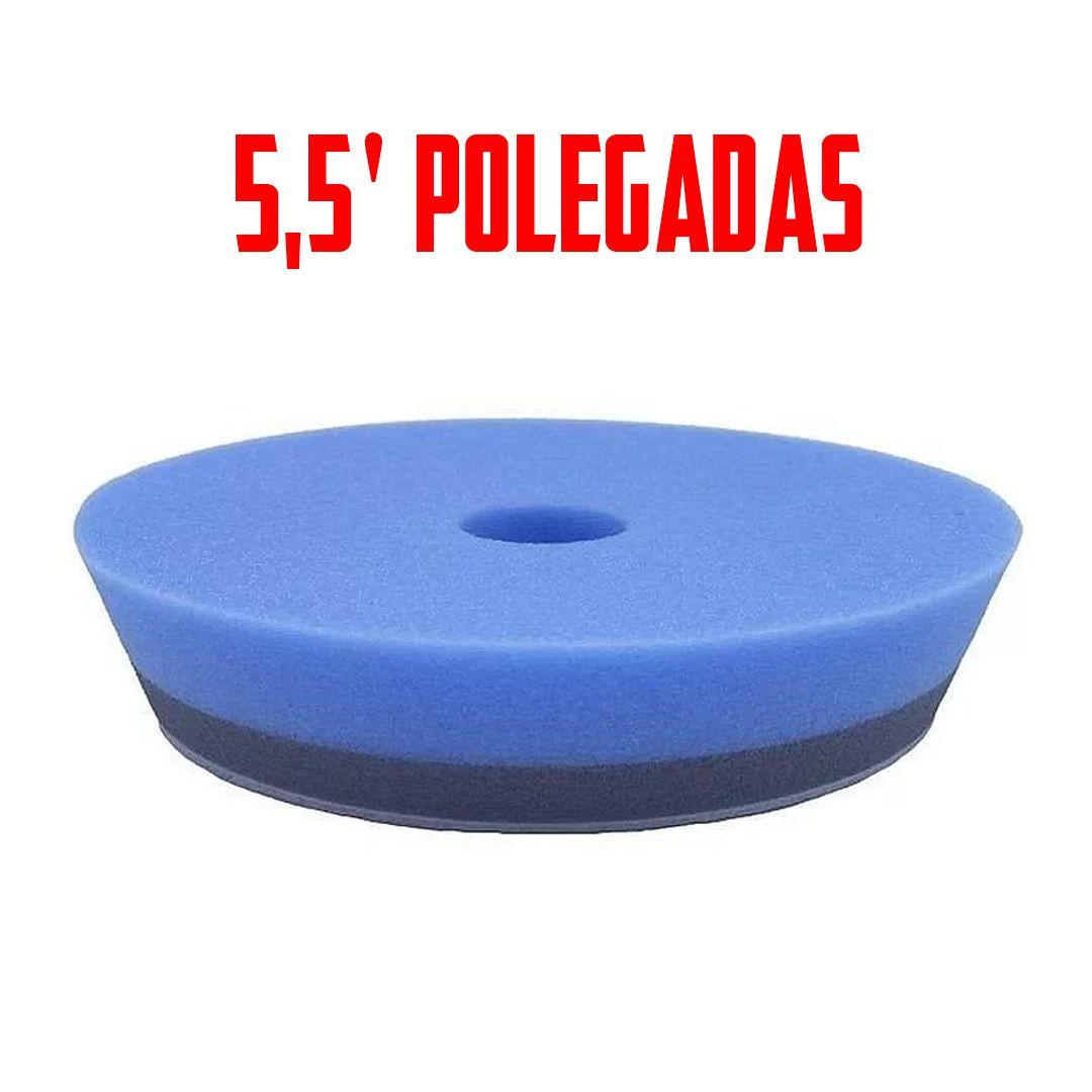 Boina de Espuma Azul Para Lustro\Refino  5,5