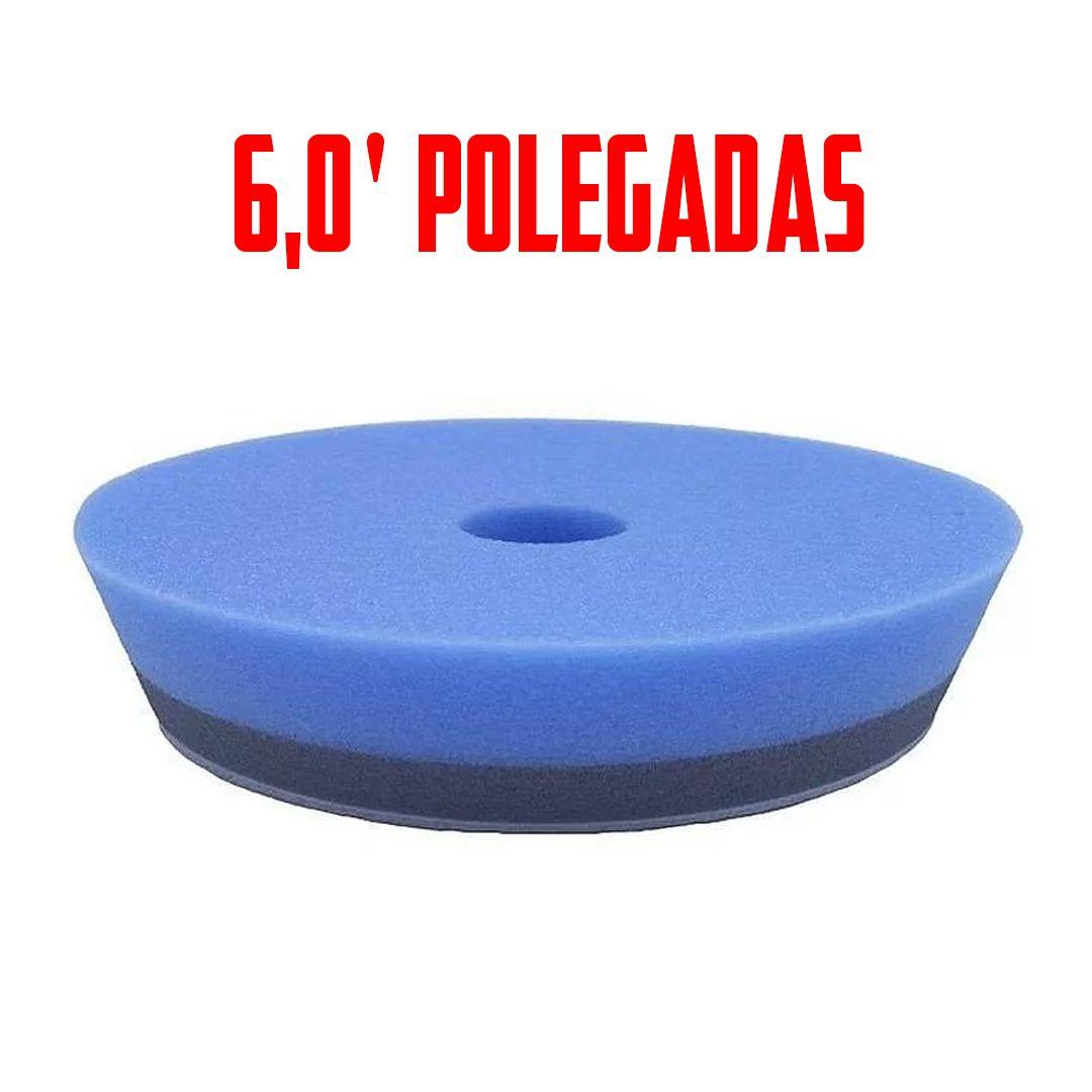 Boina de Espuma Azul Para Lustro\Refino  6