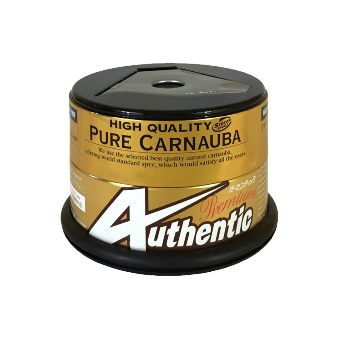 Cera Authentic Premium Pure Carnaúba c/Aplicador 200g Soft 99