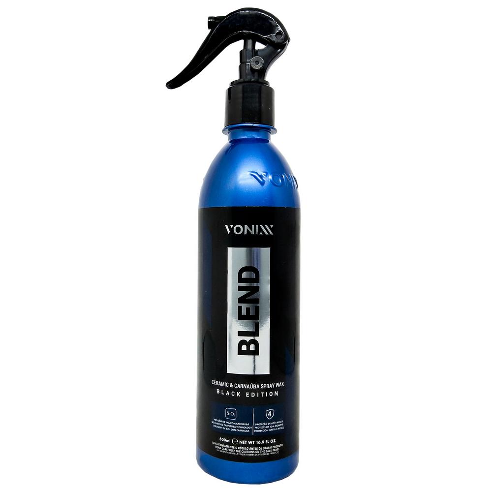 Cera Blend Black Edition Spray Vonixx Carnaúba Sílica 500ml