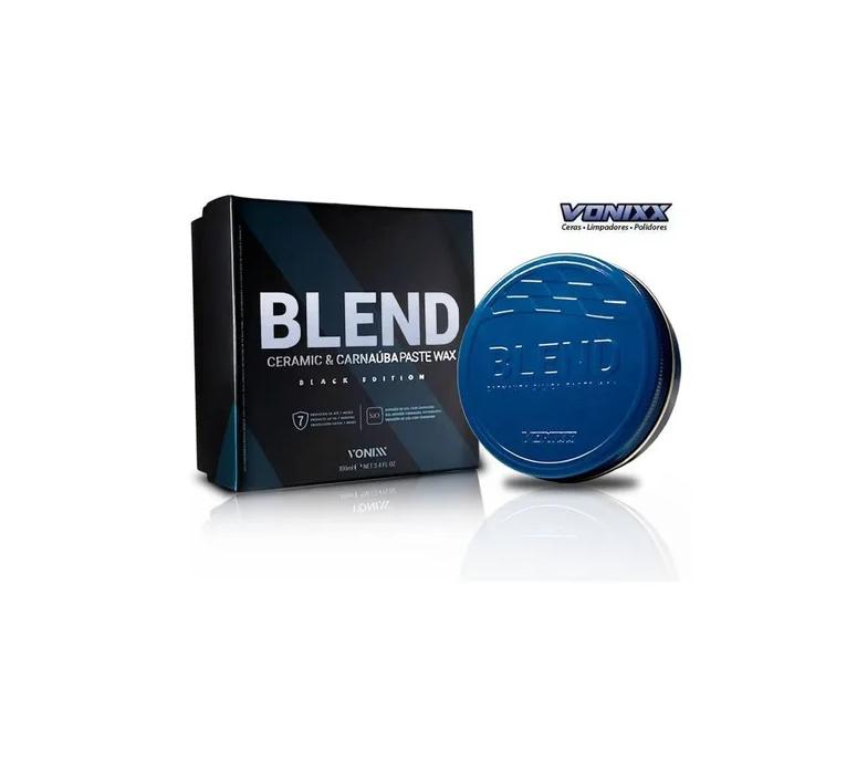 Vonixx Cera De Carnaúba Paste Wax Blend Black Edition 100ml