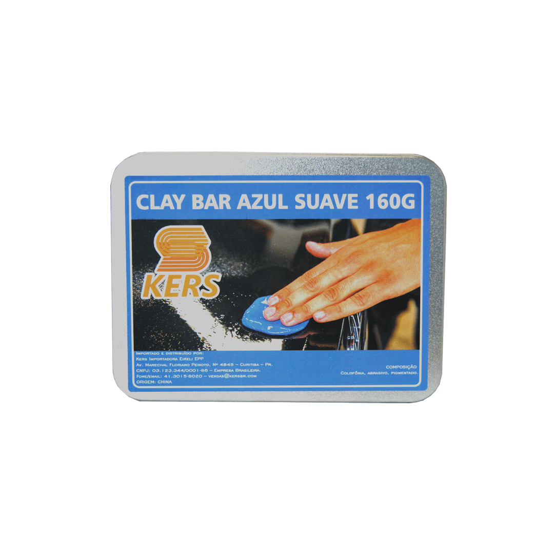 Clay Bar Azul Suave 160g Kers