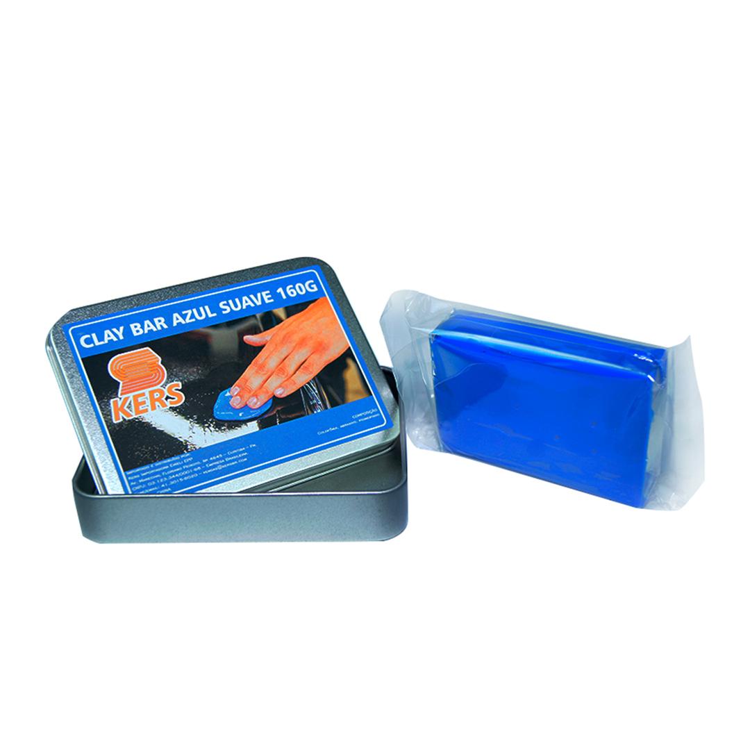 Kers Clay Bar Azul Suave 160g