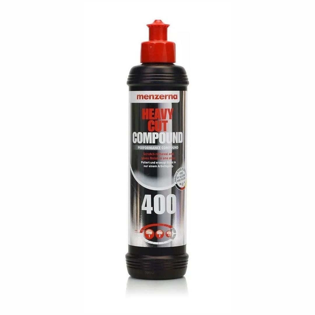 Composto Polidor de Corte Pesado Heavy Cut Compound 400 250ml Menzerna