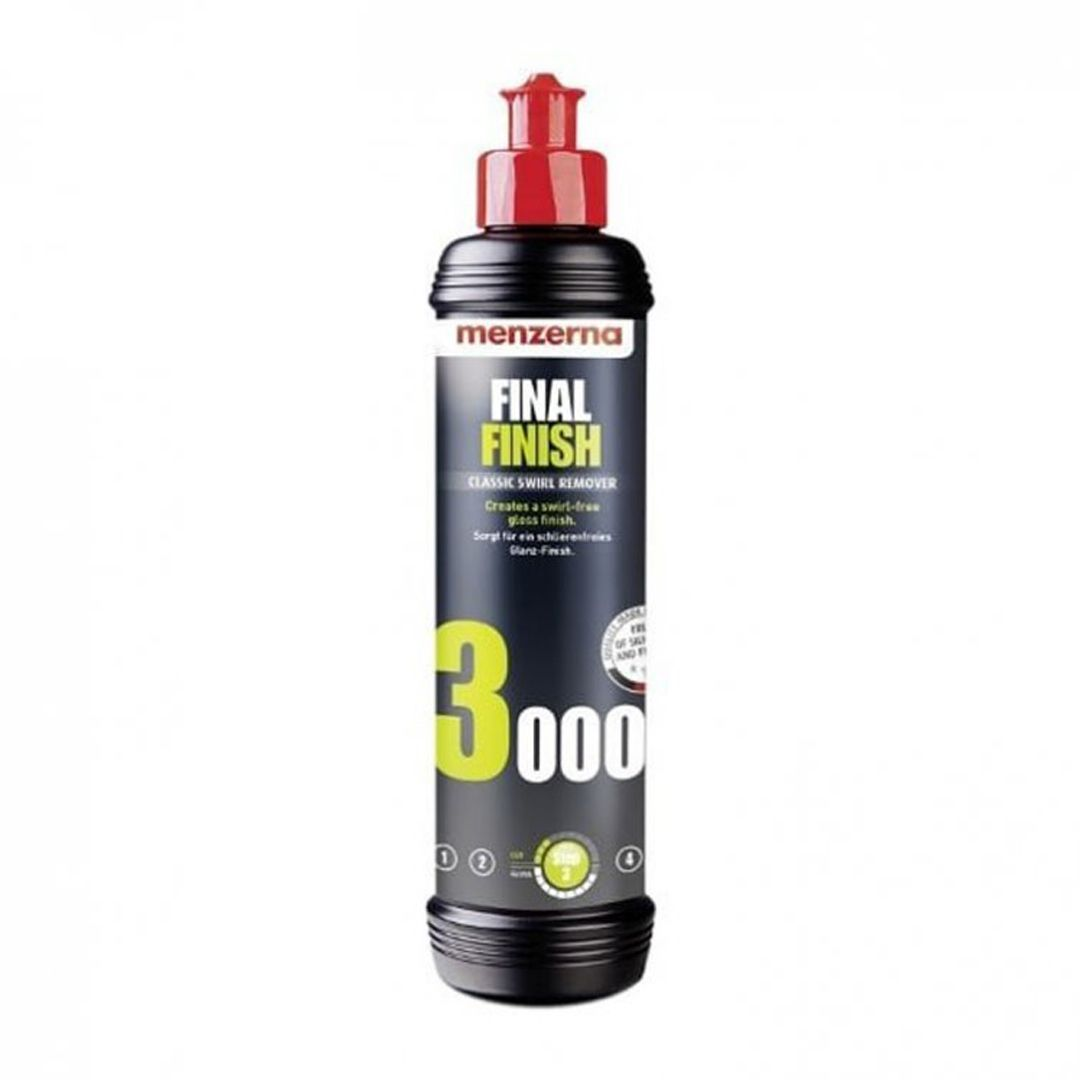 Composto Polidor Lustrador - Final Finish 3000 250ml Menzerna