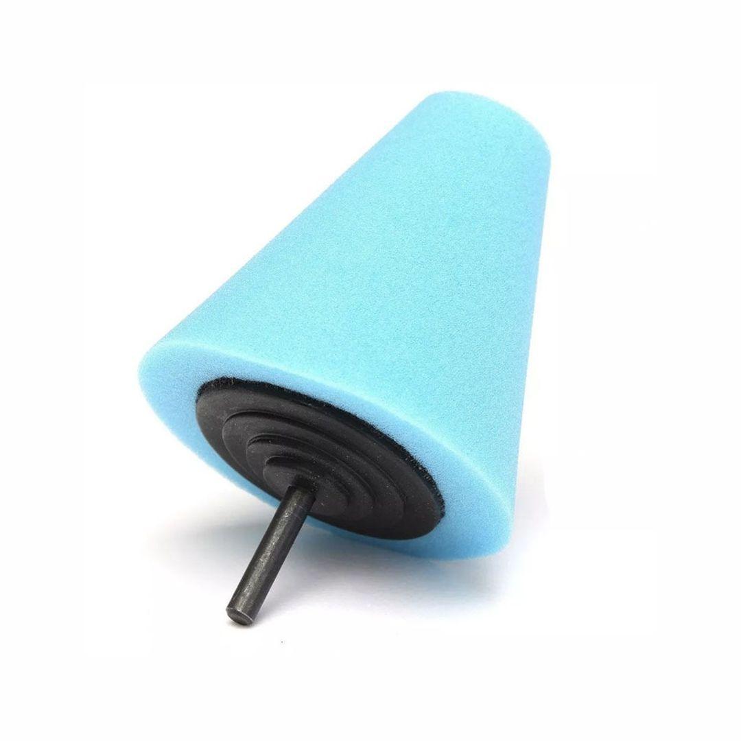 Cone de Espuma Azul para Polimento de Rodas Kers