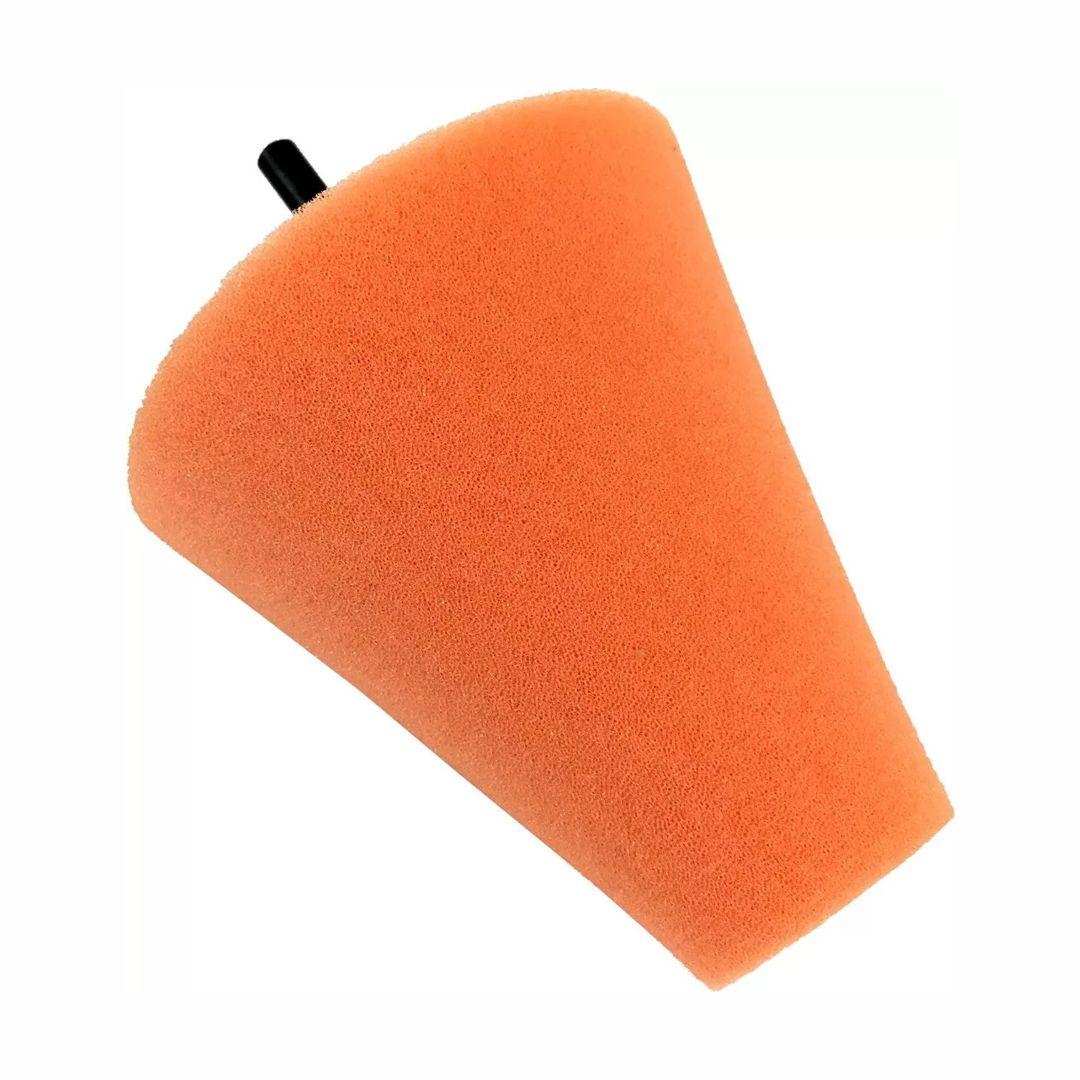 Cone de Espuma Laranja para Polimento de Rodas Kers