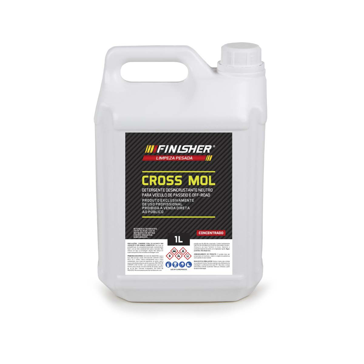 Cross Mol Shampoo Desengraxante 5 Litros Finisher