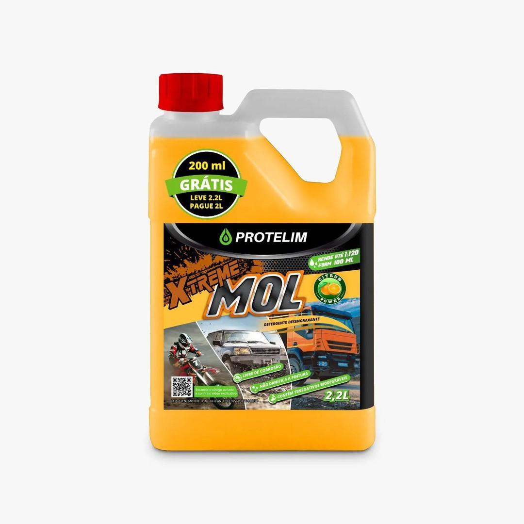 Detergente Desengraxante Xtreme Mol 2,2L Protelim