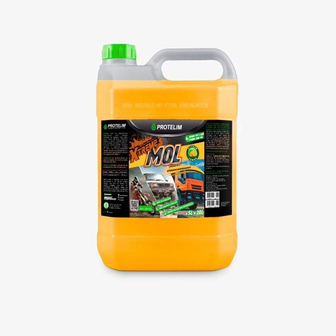 Detergente Desengraxante Xtreme Mol 5L Protelim