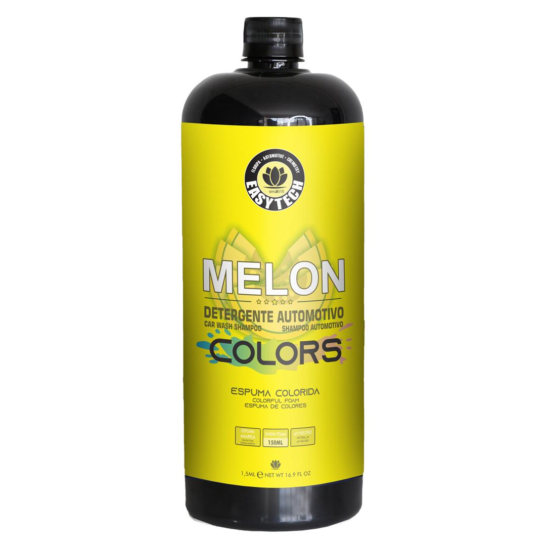 EasyTech Shampoo Melon Colors Espuma Amarela 1,5L