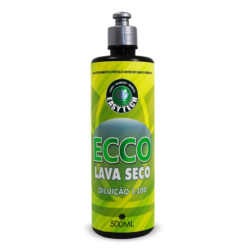 Ecco Lava Seco Easytech 500ml Super Concentrado 1:100