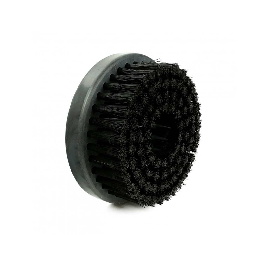 Escova Rotativa Preta Macia 120mm Rosca 5/8 Spin