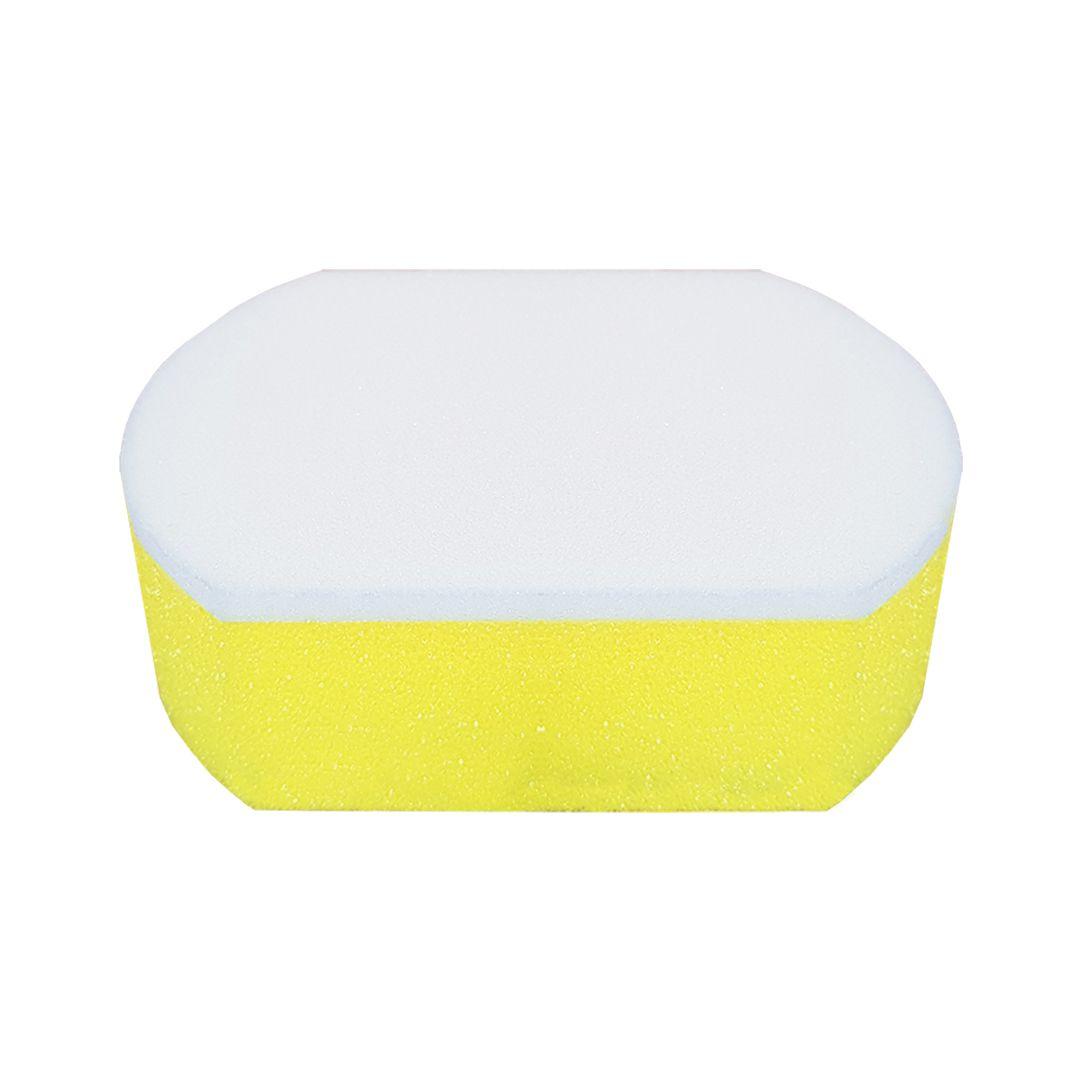 Espuma Amarela Aplicadora de Cera Authentic Sponge