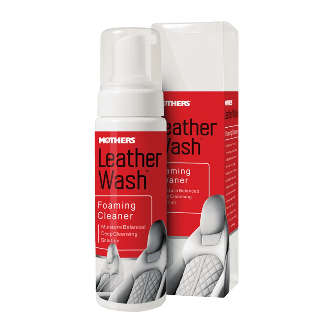 Espuma Limpa Couro Leather Wash 236ml Mother's