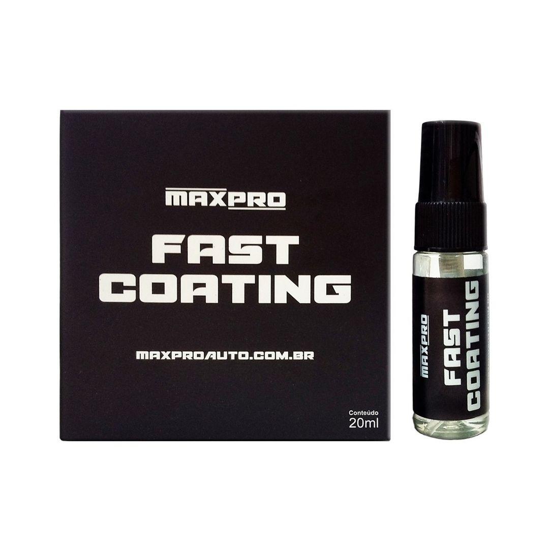 Fast Coating Vitrificador de Pintura 1 ano 20ml MaxPro