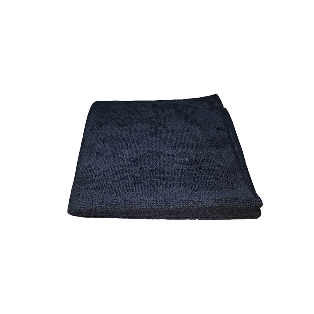 Flanela de Microfibra Preta 40x40 Mandala