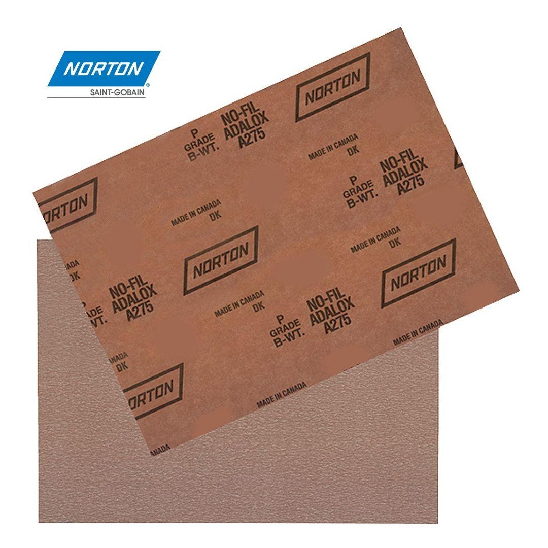 Folha de Lixa Grao 120 Norton Seca