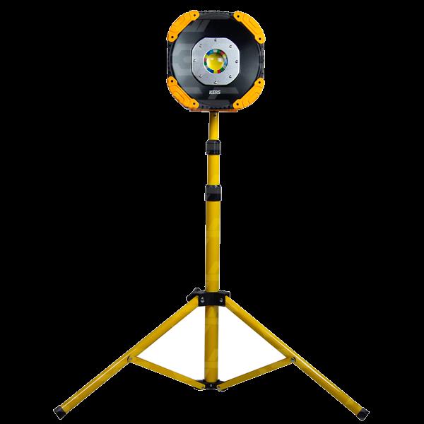 Holofote Tripé Lâmpada de Inspeção 50W 4000K Kers