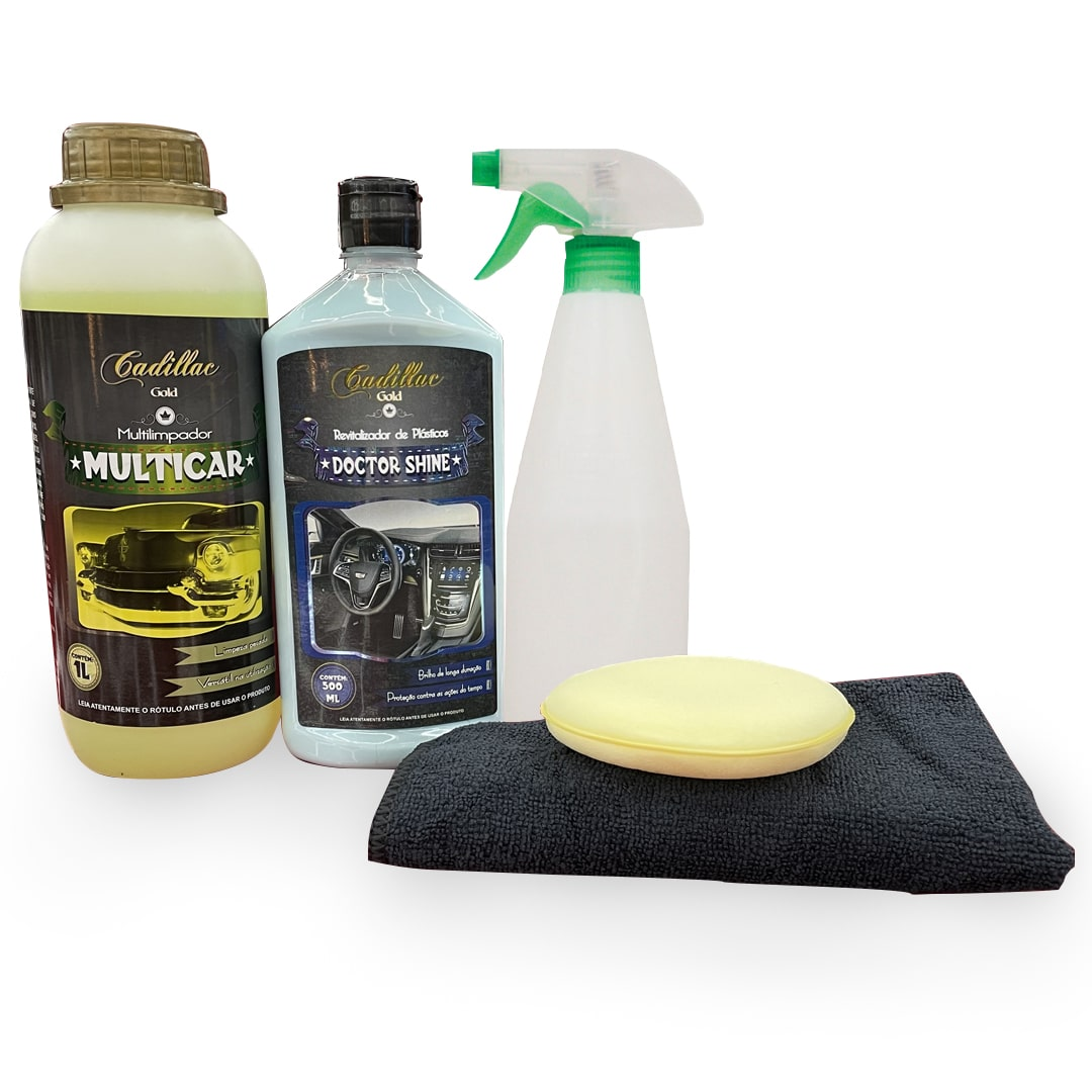 Cadillac Kit Básico Higienização Interna