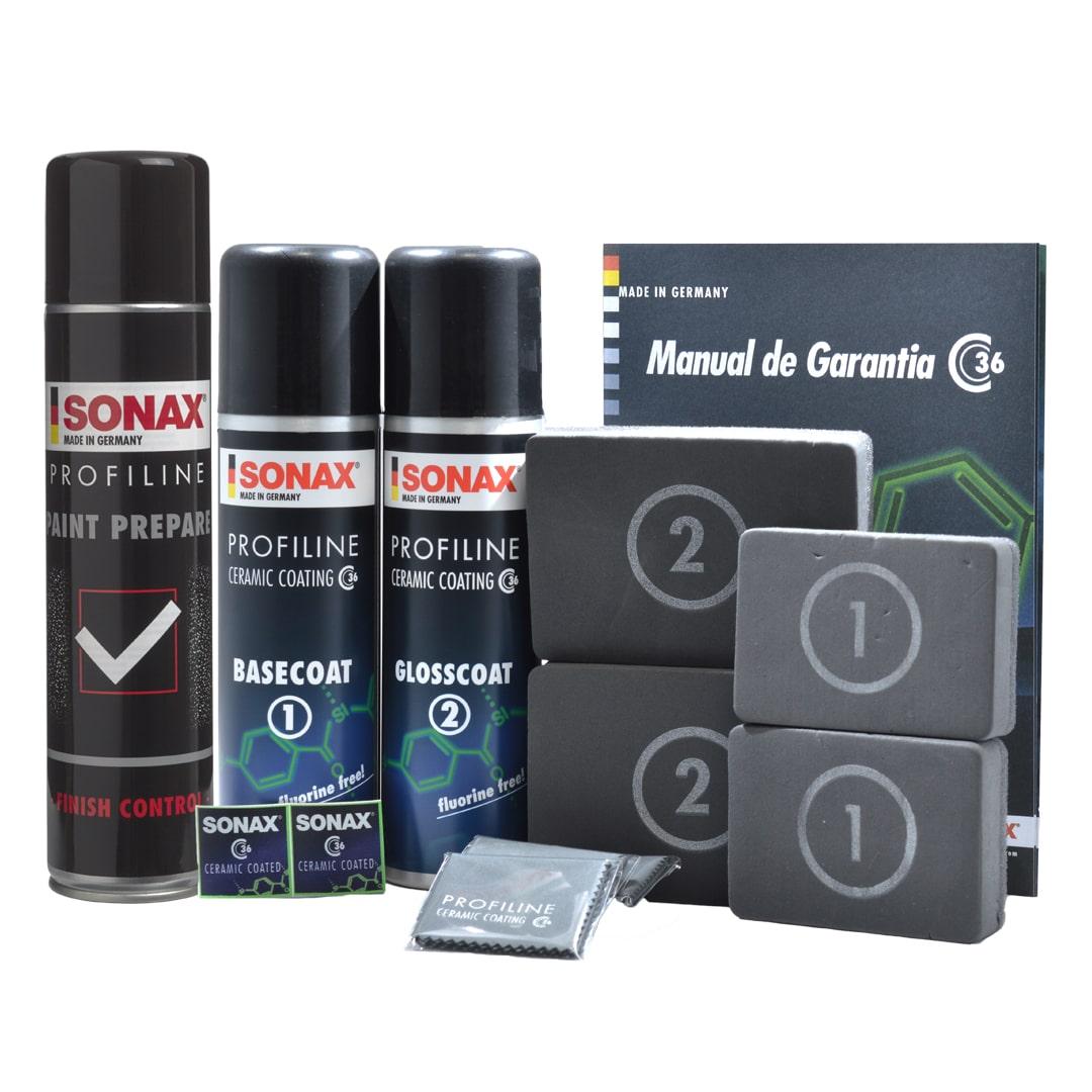 Sonax Kit Econômico Vitrificador Ceramic Coating CC36