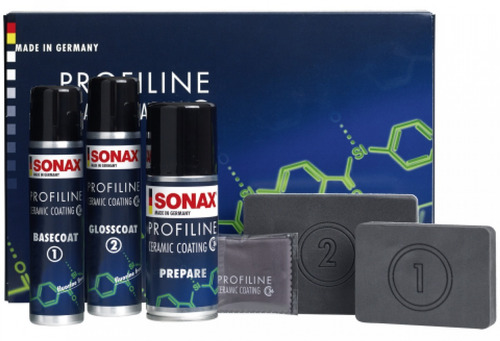 Kit Econômico Vitrificador Ceramic Coating CC36 Sonax