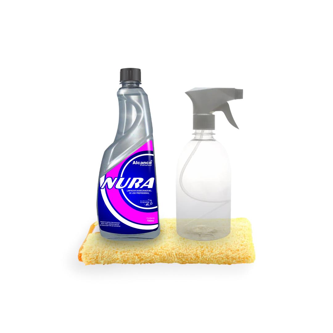 Kit Limpeza Multi-Funcional (Alcance)