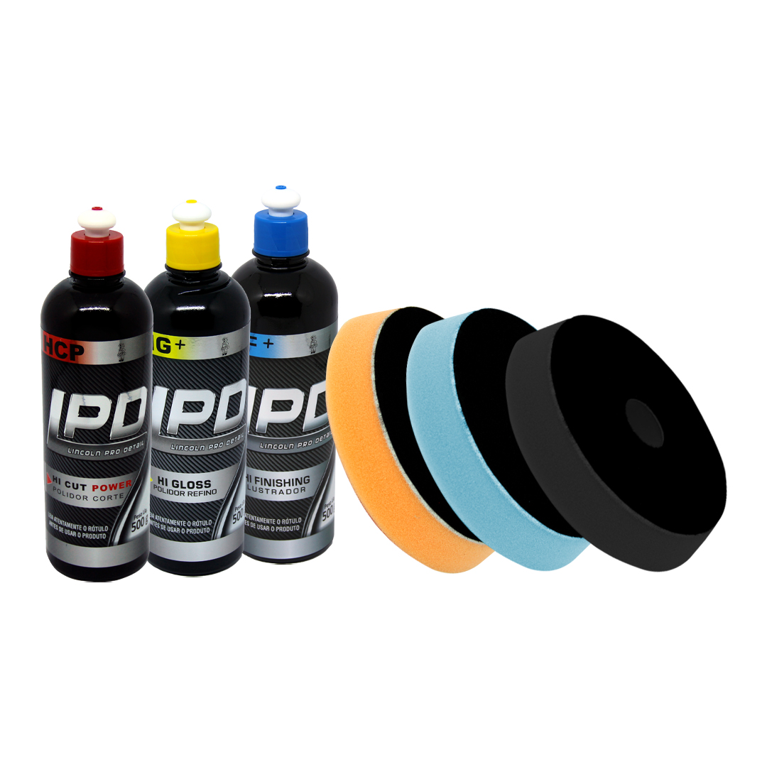 Kit Polimento Lincoln