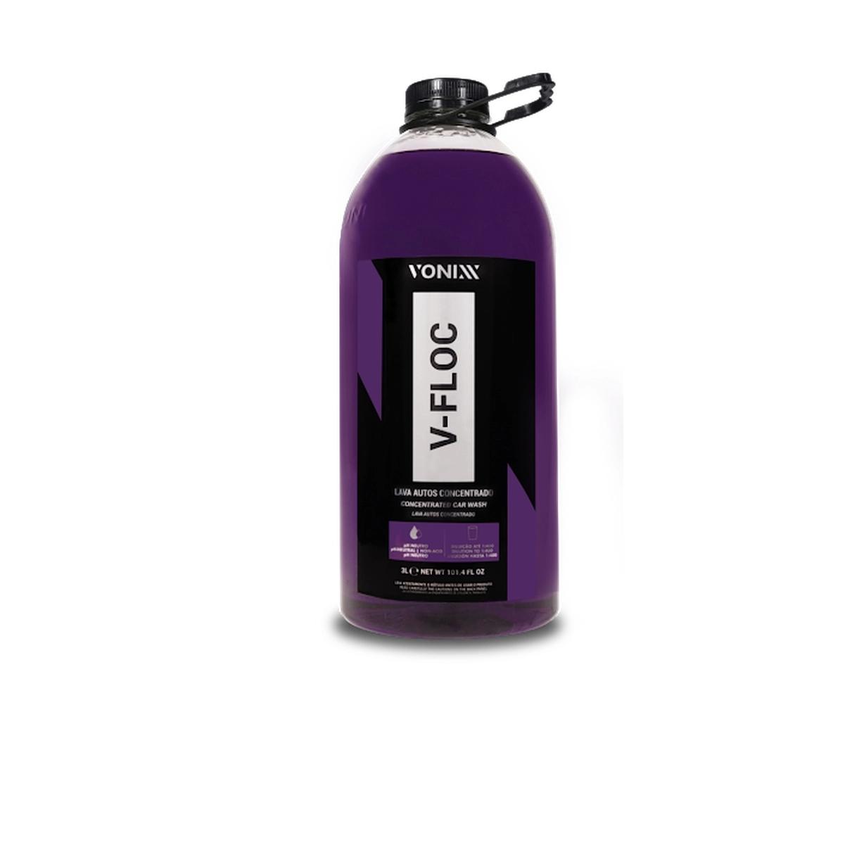 Lava Auto Super Concentrado V-Floc 3L Vonixx