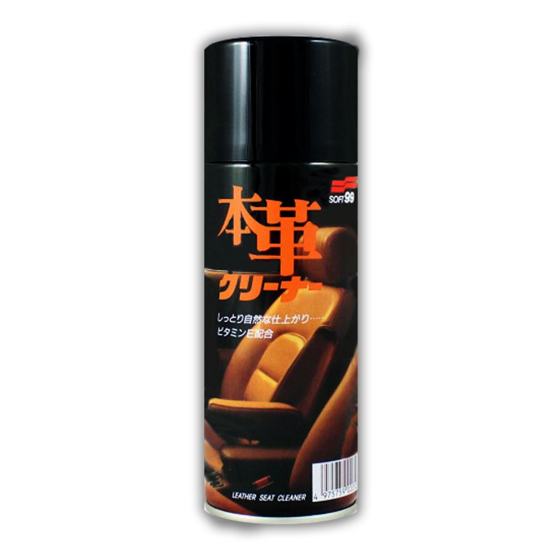 Limpa Couro Spray -  Leather Seat Cleaner 300ml Soft 99