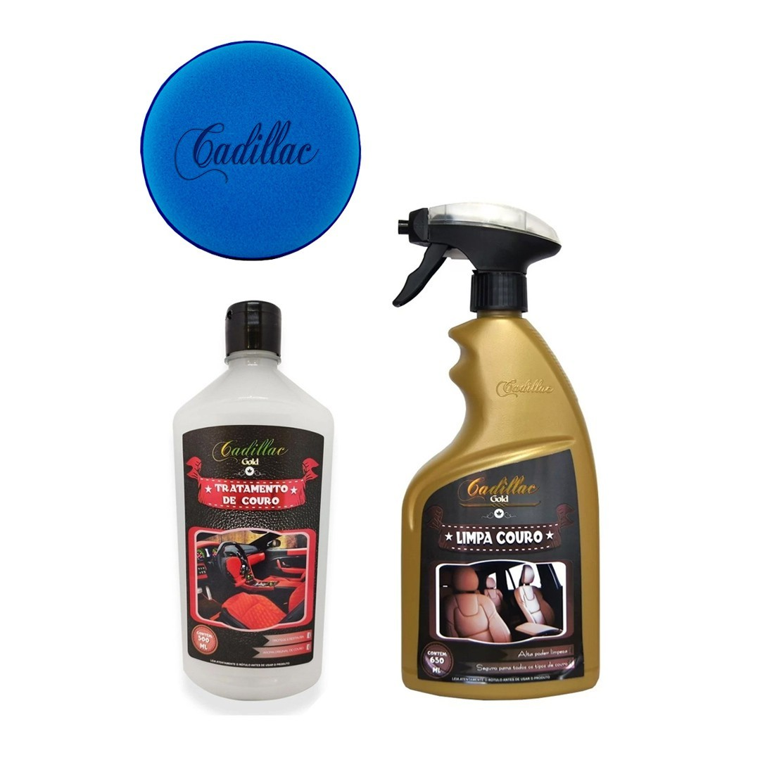 Limpa e Hidrata Couro Cadillac