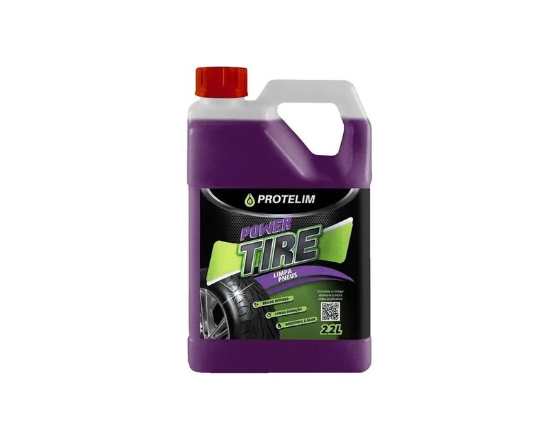 Limpa Pneus Power Tire 2l - Protelim