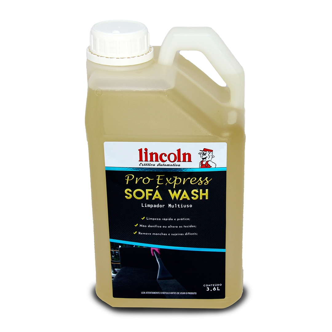 Lincoln Limpador de Tecidos Sofa Wash 3,6L