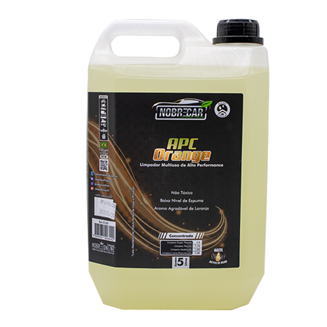 Nobrecar Limpador Multiuso Cleaner Orange 5L