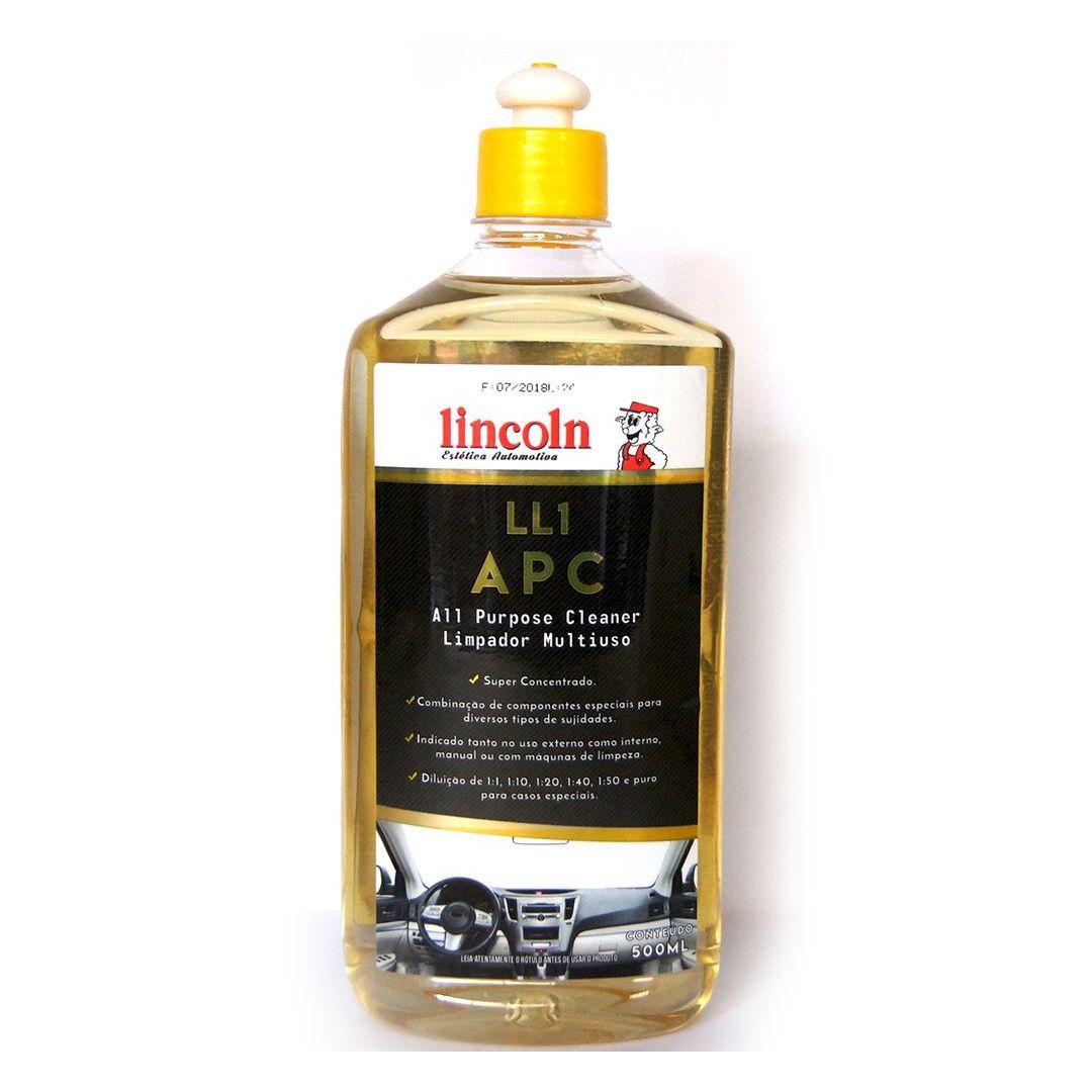 APC Limpador Multiuso LL1 Lincoln 500ml