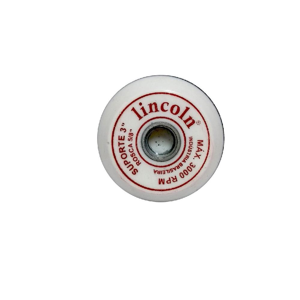Lincoln Disco Suporte 3 - 5/8 Super Velcro