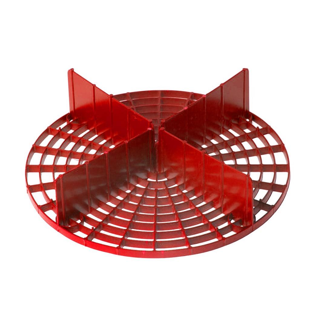 Mandala Separador de Partículas Vermelho
