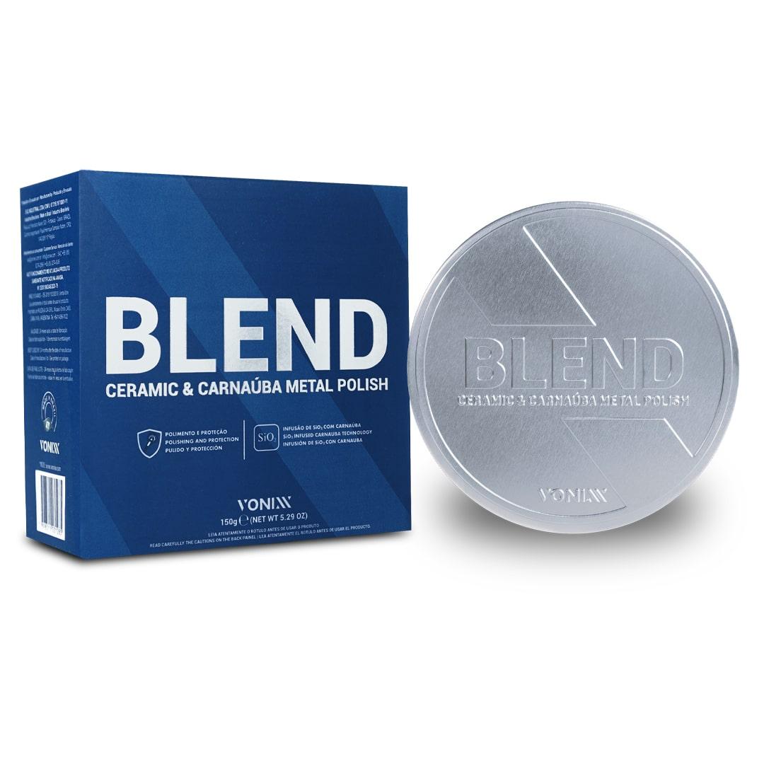 Vonixx Metal Polish Blend Polidor De Metais Aluminio Cromado 150g